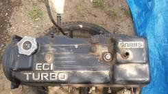 Двигатель в сборе. Mitsubishi Pajero, L041G