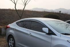 Ветровик на дверь. Hyundai Avante