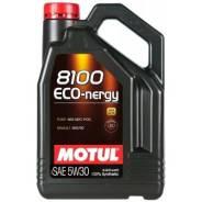 Motul 8100 Eco-Nergy. 5W-30, синтетическое, 5,00л.