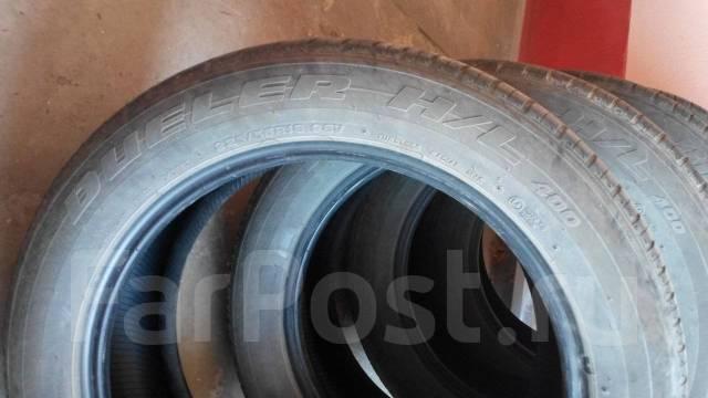 Bridgestone Dueler H/L 400. Летние, 2013 год, износ: 20%, 4 шт