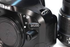 Nikon D5200. 20 и более Мп, зум: 4х