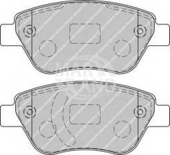 Колодки дисковые п.\ Opel Corsa 1.0-1.4/1.3CDTi 06>