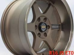 RAYS VOLK RACING TE37. 9.0x16, 6x114.30, ET0, ЦО 66,1мм. Под заказ
