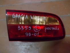 Вставка багажника. Toyota Camry Gracia, MCV21W, MCV25, SXV20, MCV21, SXV25 Двигатели: 5SFE, 2MZFE