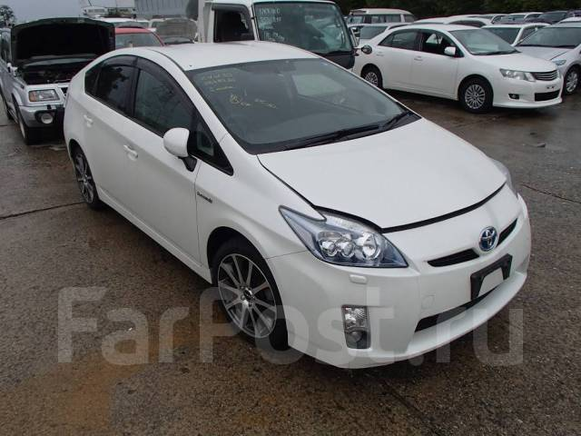 Toyota Prius. вариатор, передний, 1.8 (99 л.с.), бензин, б/п. Под заказ