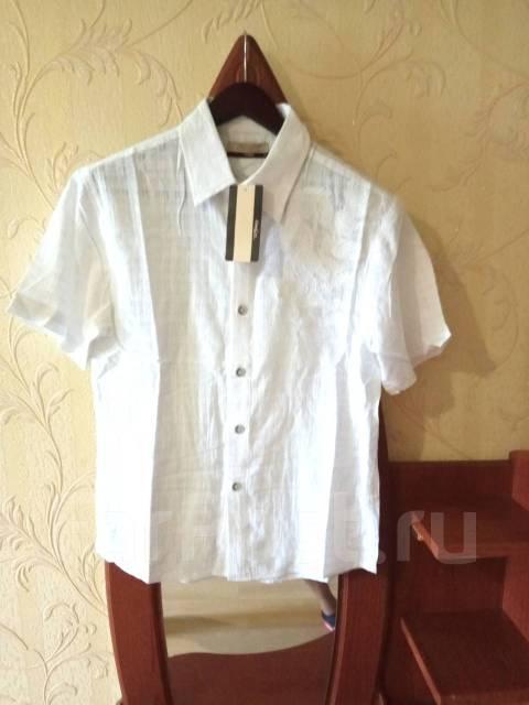 7023c49eb3a Лёгкая рубашка х б с драконом размер 46-48 - Основная одежда во ...