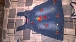 Сарафаны джинсовые. Рост: 86-92 см