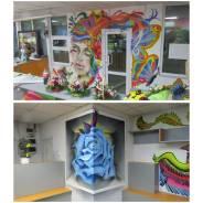 Художественное оформление и Граффити на заказ в Хабаровске