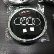 """Колпаки на диски Audi черные 69мм. Диаметр 16"""""""", 1шт"""