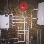 Монтаж отопительных систем и водоснабжения.