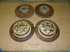 Диск тормозной. Toyota: Chaser, Crown, Cresta, Mark II, Brevis Двигатель 1JZGTE