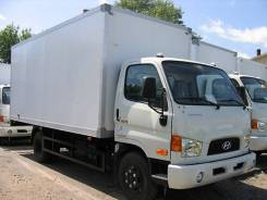 Hyundai HD78. Изотермический фургон на шасси Hyundai HD 78, 3 900 куб. см., 4 000 кг.