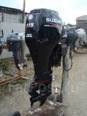 Suzuki. 115,00л.с., 4-тактный, бензиновый, нога X (635 мм), Год: 2010 год