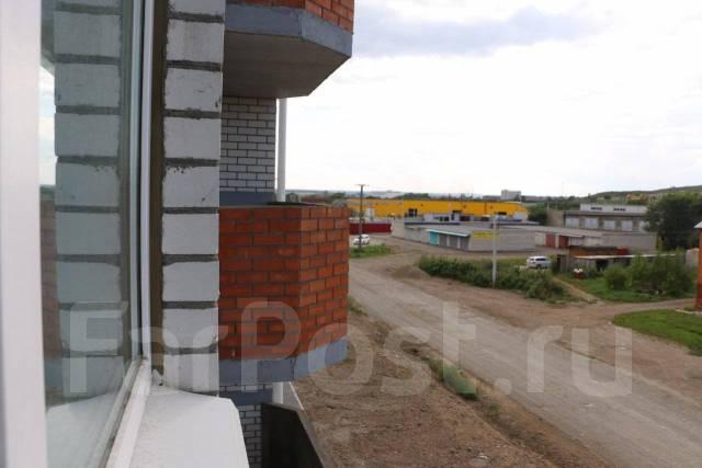 3-комнатная, проезд Новоникольский 4. 3-й км, агентство, 70 кв.м. Вид из окна днём