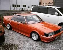 Накладка на порог. Toyota Mark II, GX71 Toyota Cresta, GX71 Toyota Chaser, GX71