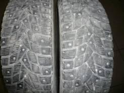 Dunlop SP Winter ICE 02. Зимние, шипованные, 2015 год, износ: 20%, 2 шт