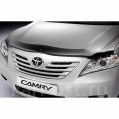 Дефлектор капота. Toyota Camry, ACV40, ACV45, AHV40, GSV40 Двигатели: 2AZFE, 2AZFXE, 2GRFE