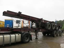 Dennison. Полуприцеп контейнеровоз высокий, 2006, 35 300 кг.