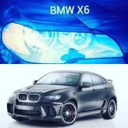 Накладка на фару. BMW X6, E71, E53, E70 BMW X5, E70, E53 Двигатели: N63B44, N57S, N57D30OL, S63B44, N57D30TOP, M57D30T, N55B30, M57D30TU2, M57TU2D30...