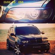 Накладка на фару. BMW X5, E53, E70