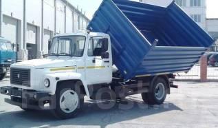 САЗ. Самосвал с трех сторонней разгрузкой ГАЗ--35071, 4 700 куб. см., 4 497 кг.
