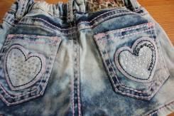 Шорты джинсовые. Рост: 122-128, 128-134, 134-140 см