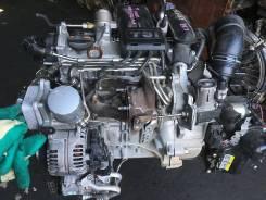 Двигатель CBZA на VW без навесного