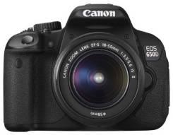 Canon EOS 650D. 15 - 19.9 Мп, зум: 12х