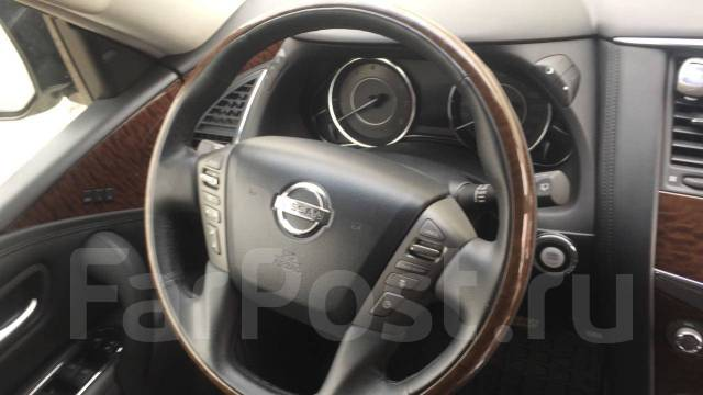 Nissan Patrol. автомат, 4wd, 5.7 (406л.с.), бензин, 85 000тыс. км