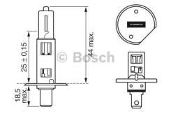 Лампа TRUCKLIGHT H1 24V 70W 1987302411 bosch 1987302411 в наличии