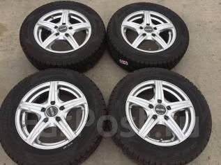 195/65 R15 Dunlop DSX-2 литые диски 5х114.3 (К9-1514). 5.5x15 5x114.30 ET46