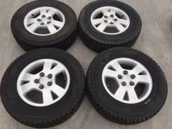 "215/70 R15 Dunlop Grandtrek SJ7 литые диски 5х114.3 (К9-1516). 6.0x15"" 5x114.30 ET50"
