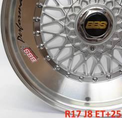 BBS Super RS. 8.0x17, 5x112.00, 5x120.00, ET-25, ЦО 73,1мм. Под заказ