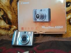 Canon PowerShot A550. 15 - 19.9 Мп, зум: 7х