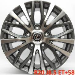 Lexus. 8.5x20, 5x150.00, ET58, ЦО 110,1мм. Под заказ