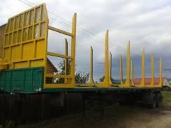 Камаз 54115. Продам полуприцеп 12 метров сортиментовоз, 11 000 куб. см., 15 000 кг.