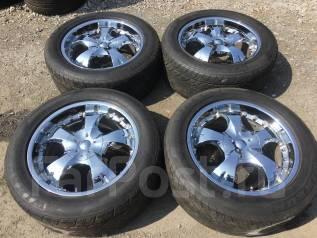 Яркий Хром 285/50/20 Toyota Land Cruiser 100-200, Lexus LX 470-570!. 9.5x20, 5x150.00, ET50, ЦО 109,0мм.