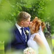 Фотограф на свадьбу, прогулку, студийная съёмка