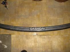 Накладка на бампер. Nissan Qashqai, J10, J10E Двигатели: R9M, M9R, MR20DE, HR16DE