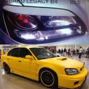 Накладка на фару. Subaru Legacy B4, BEE, BLE, BE5, BL9, BL5, BE9 Subaru Legacy, BEE, BL5, BE5, BLE, BE9, BL9 Двигатели: EJ25, EZ30, EZ204, EZ20, EJ204...