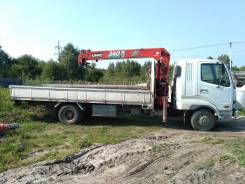 Mitsubishi Fuso Fighter. Продаётся Mitsubishi Fuso манипулятор, 5 200 куб. см., 3 000 кг., 10 м.