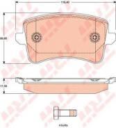 Колодки дисковые з.\ Audi A4/A5 1.8TFSi-3.2FSI/2.7TDi 07>