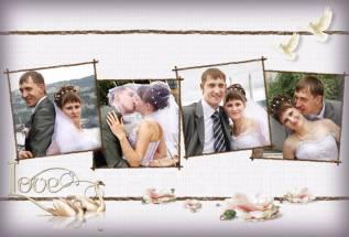 Подарочный Сертификат Свадебной съемки