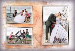 Подарочный Сертификат Свадебной съемки в свадебном платье