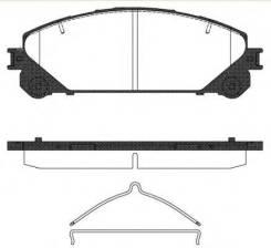 Колодки дисковые п.!\ Lexus RX 3.5 09>