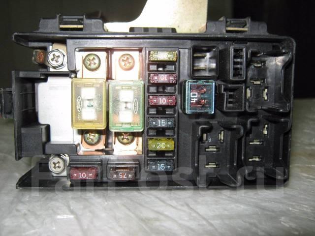 Блок предохранителей. Honda Logo, GF-GA5, GF-GA3