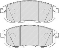 Колодки дисковые п.\ Nissan Tiida 1.6/1.8/1.5DCi 07>