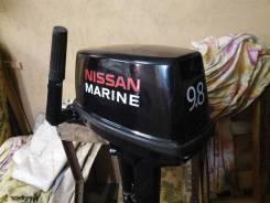 Nissan Marine. 9,80л.с., 2-тактный, бензиновый, нога S (381 мм), Год: 2010 год