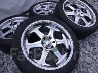 Комплект Колес 305/40R22 Шины Toyo + Диски Giovanna / Япония №8422. 9.5x22 6x139.70 ET20