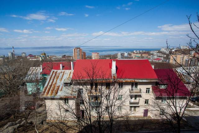 2-комнатная, улица Нерчинская 3. Центр, 50кв.м. Вид из окна днем